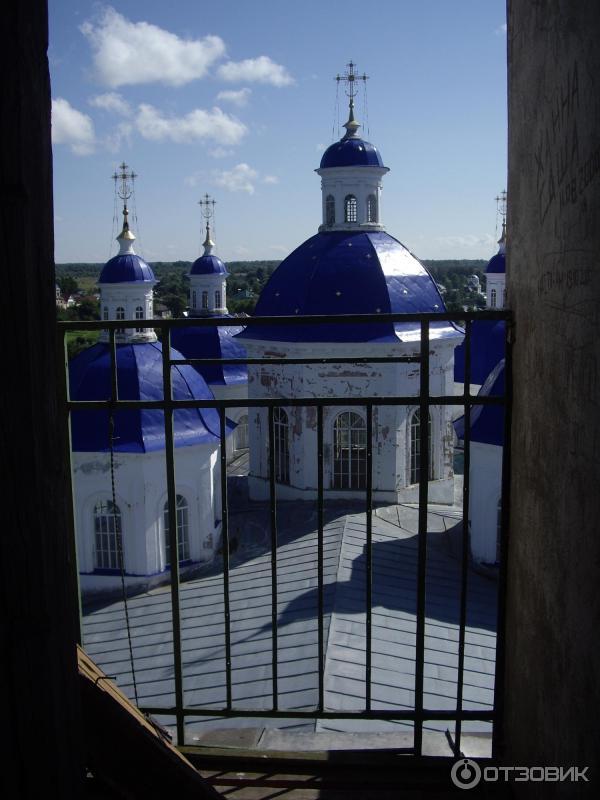 Вид с колокольни Воскресенского собора