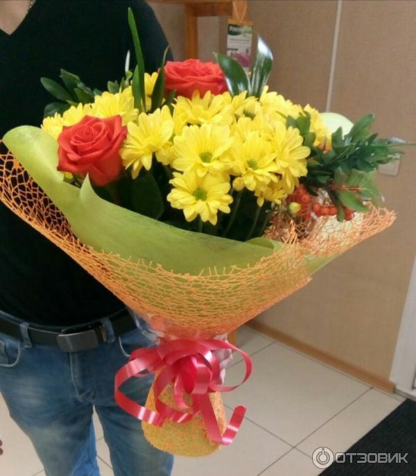 Отзывы служба доставки цветов, пион цена