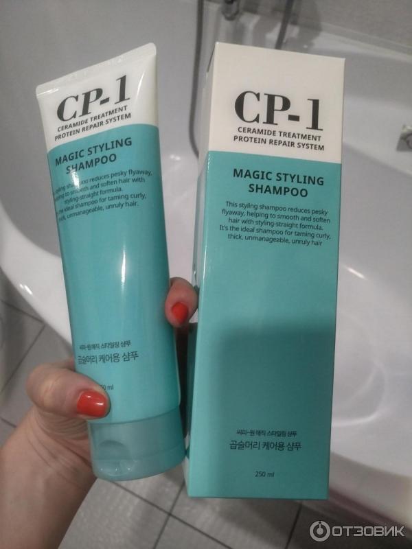 Протеиновый шампунь для непослушных и вьющихся волос CP-1 MAGIC STYLING SHAMPOO 250ML