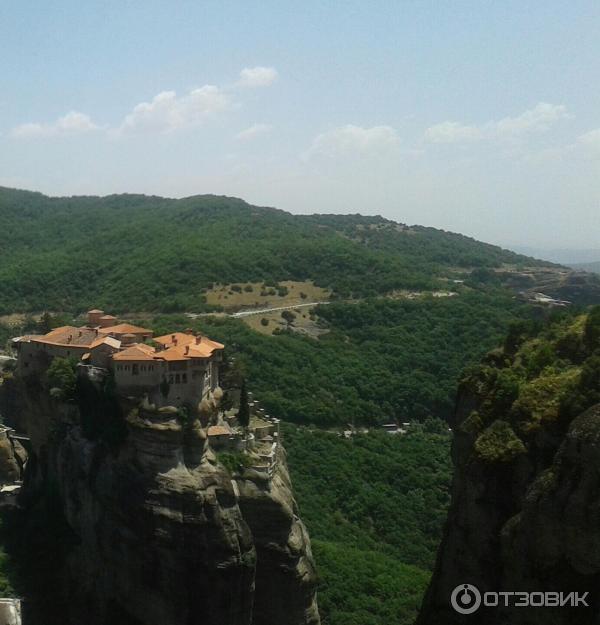 Монастыри Метеоры (Греция, Фессалия) фото