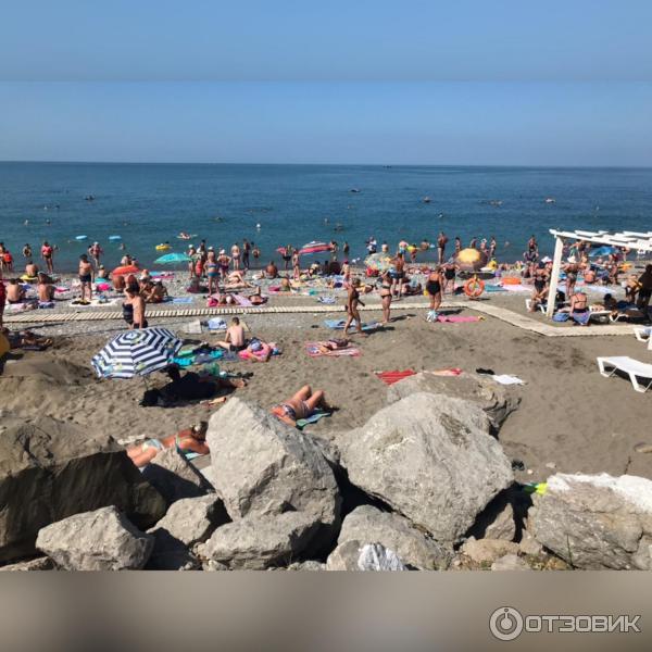 Песчаный пляж в лазаревском фото будущий крёстный