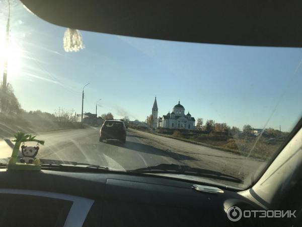 По дороге в Дивеево