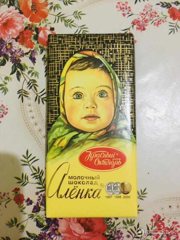 шоколад аленка оригинал фото того