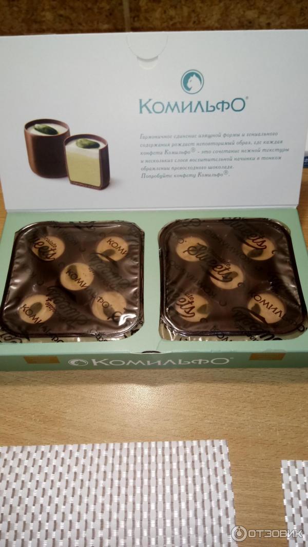 конфеты комильфо фото википедии