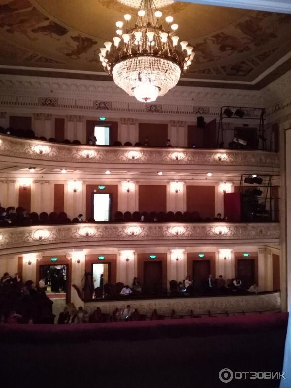 Зал театра оперы и балета пермь фото