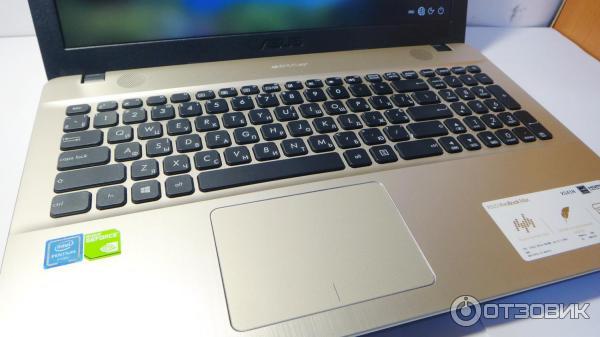 Клавиатура и тачпад ноутбука Asus X541N