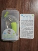 Позволяет эффективно очистить нос маленькому ребенку.